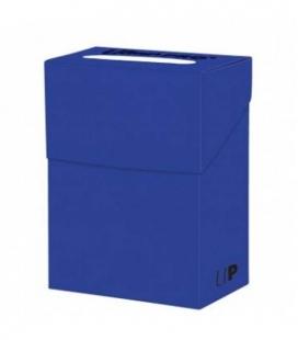 Caja de mazo para cartas Solid Ultra Pro. Para 85 cartas. Color Pacific Blue