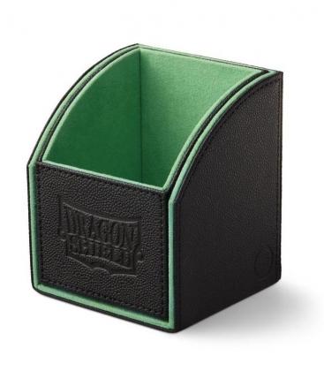 Caja de mazo Nest Box Dragon Shield Simple - Color Negro/Verde