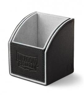Caja de mazo Nest Box Dragon Shield Simple - Color Negro/Blanco