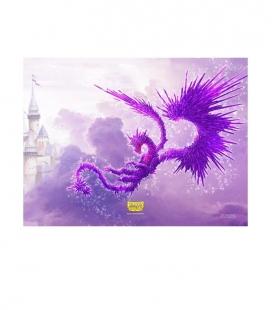 Tapete Racan Edición Limitada Dragon Shield. Color Clear Purple