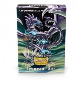Fundas japanese art sleeve Dragon Shield Qyonshi - Paquete de 60