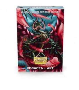Fundas japanese art sleeve Dragon Shield Rosacea - Paquete de 60