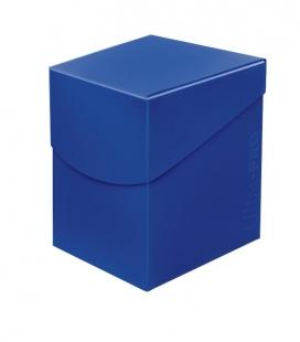 Caja de mazo para cartas Eclipse 100 Ultra Pro. Para 100 cartas. Color Pacific Blue