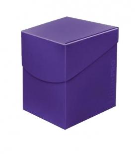 Caja de mazo para cartas Eclipse 100 Ultra Pro. Para 100 cartas. Color Royal Purple