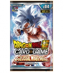 Caja de sobres Colossal Warfare Inglés - cartas Dragon Ball Super Card Game