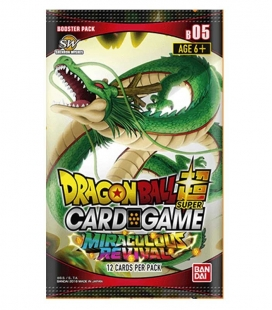 Caja de sobres Serie 5 DBS Inglés - cartas Dragon Ball Super Card Game