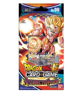 Dragon Ball Super Card Game Starter Deck Display Serie 5 DBS - 6 Inglés