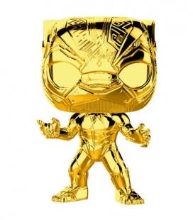 Funko POP! Black Panther Chrome Marvel Studios 10 - Marvel