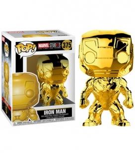 Funko POP! 375 Iron Man Chrome Marvel Studios 10 - Marvel