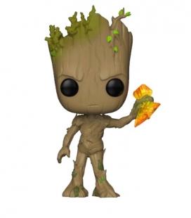 Funko POP! Groot with Stormbreaker - Infinity War Marvel