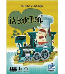 ¡A todo Tren! - Isle of Trains juego de cartas Looping Games