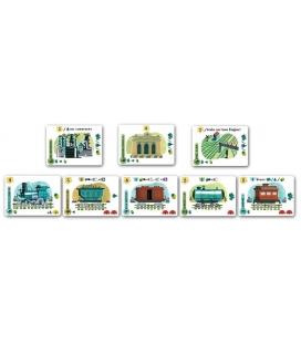 ¡A todo Tren! - Isle of Trains juego de cartas Looping Games