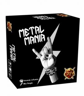 MetalManía. Juego de mesa de GDM Games