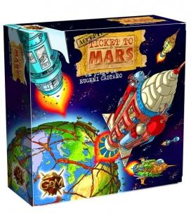 Ticket to Mars. Juego de mesa de GDM Games