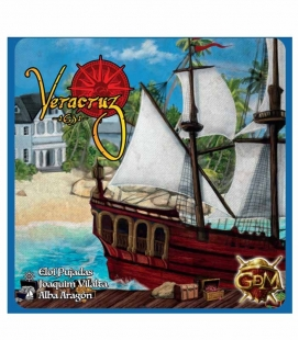 Veracruz 1631. Juego de mesa de GDM Games