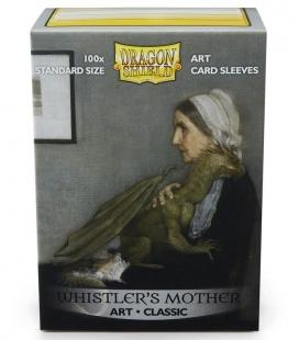 Fundas Standard Dragon Shield Whistlers Mother - Paquete de 100