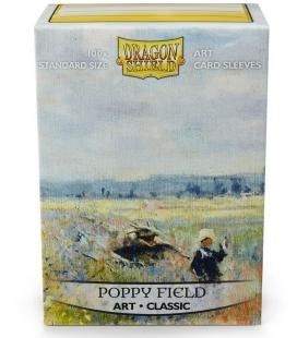 Fundas Standard Dragon Shield Poppy Field - Paquete de 100