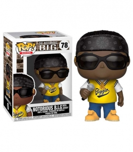 Funko POP! 78 The Notorious BIG with jersey - Música