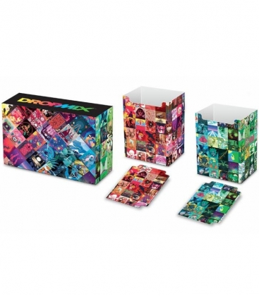 Caja de mazo DropMix Magnetic Dual with matching dividers Ultra Pro