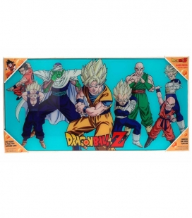 Dragon Ball Z Heroes Póster de vidrio Dragon Ball 60x30 cm