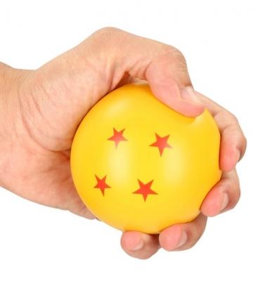 Bola de Dragón 4 estrellas antiestrés Dragon Ball