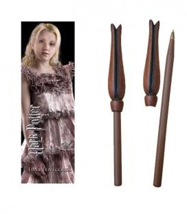 Bolígrafo Varita & marcapáginas Luna Lovegood  - Harry Potter - The Noble Collection