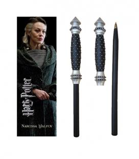 Bolígrafo Varita & marcapáginas Narcissa Malfoy  - Harry Potter - The Noble Collection
