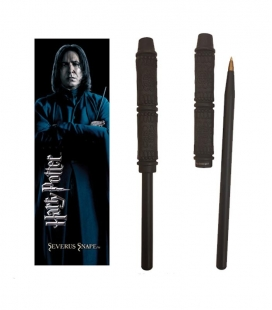 Bolígrafo Varita & marcapáginas Snape  Harry Potter The Noble Collection