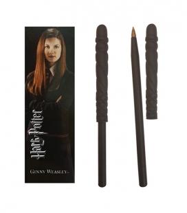 Bolígrafo Varita & marcapáginas Ginny Weasley  - Harry Potter - The Noble Collection
