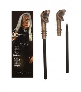 Bolígrafo Varita & marcapáginas Lucius Malfoy  - Harry Potter - The Noble Collection