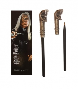 Bolígrafo Varita & marcapáginas Lucius Malfoy  - Harry Potter - The Noble Collection