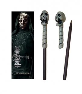 Bolígrafo Varita & marcapáginas Death Eater (skull)  - Harry Potter - The Noble Collection
