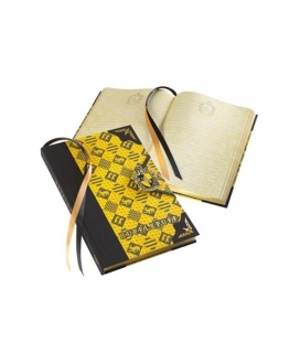 Diario - Hufflepuff - Harry Potter - The Noble Collection