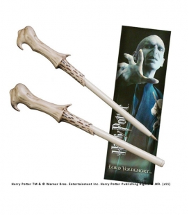 Bolígrafo Varita & marcapáginas Voldemort - Harry Potter- The Noble Colleccion