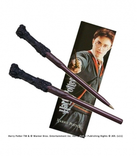 Bolígrafo Varita & marcapáginas Harry Potter - The Noble Collection