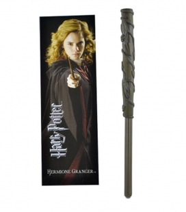 Bolígrafo Varita & marcapáginas Hermione - Harry Potter- The Noble Collection