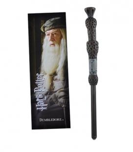 Bolígrafo Varita & marcapáginas Dumbledore - Harry Potter- The Noble Collection