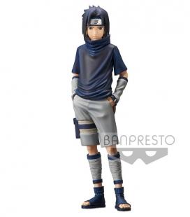 Figura Naruto Shippuden Grandista Shinobi Relations Uchiha Sasuke 2 25 cm de Banpresto
