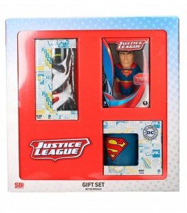 Set Regalo DC Superman (Antiestrés - Taza - Vaso Refresco)