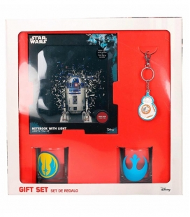 Set Regalo Star Wars Rebeldes (Librea - Vasos - Llavero)