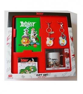 Set Regalo Asterix (Libreta - Llaveros - Taza - Posavasos)
