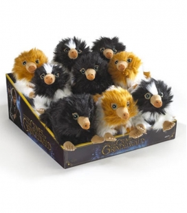 Pack de 9 peluches Mini Baby Niffler Animales Fantásticos The Noble Collection