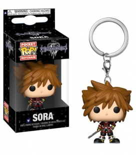 Funko Keychain de Sora Kingdom Hearts. Llavero