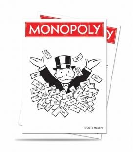 Fundas Ultra Pro  Monopoly V3 . Tamaño Standard  66x91 mm - Paquete de 100