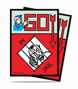 Fundas Ultra Pro  Monopoly V2. Tamaño Standard  66x91 mm - Paquete de 100