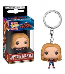 Funko Keychain de Captain Marvel Capitana Marvel. Llavero