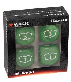 Dados de 6 caras Deluxe Loyalty 22mm para Magic the Gathering Verde