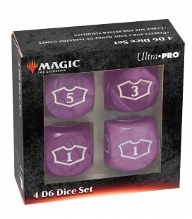 Dados de 6 caras Deluxe Loyalty 22mm para Magic the Gathering Morado