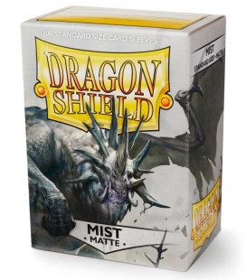 Fundas Standard Dragon Shield Matte Mist - Paquete de 100