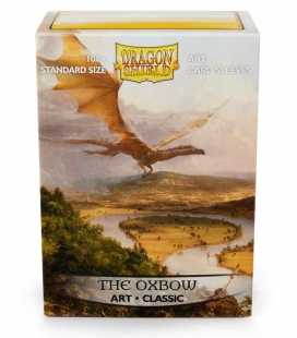 Fundas Standard  Art Sleeves Classic The Oxbow Dragon Shield - Paquete de 100